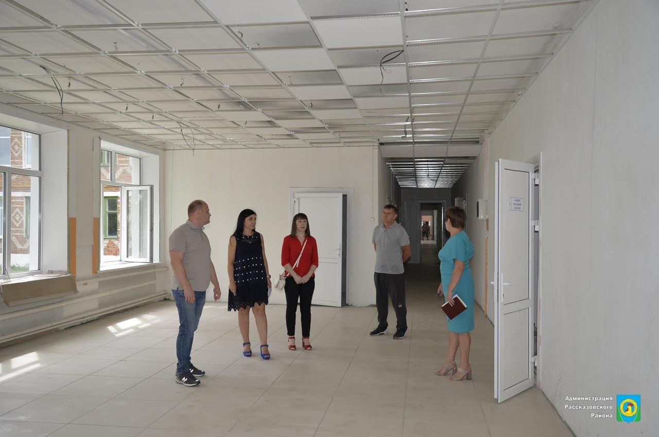 В Рассказовском районе планируют благоустроить центр села Нижнеспасское