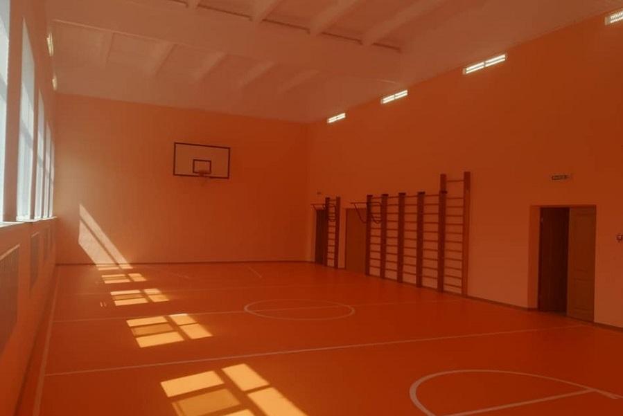 В сельских школах региона завершается ремонт спортзалов