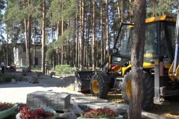 В Тамбове на ремонт тротуарной плитки и игрового оборудования детсадов направили 41 млн рублей