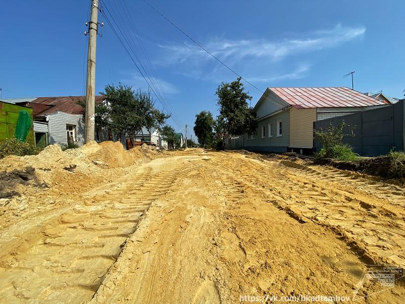 В Тамбове отремонтируют улицу Серова и проезд Достоевского