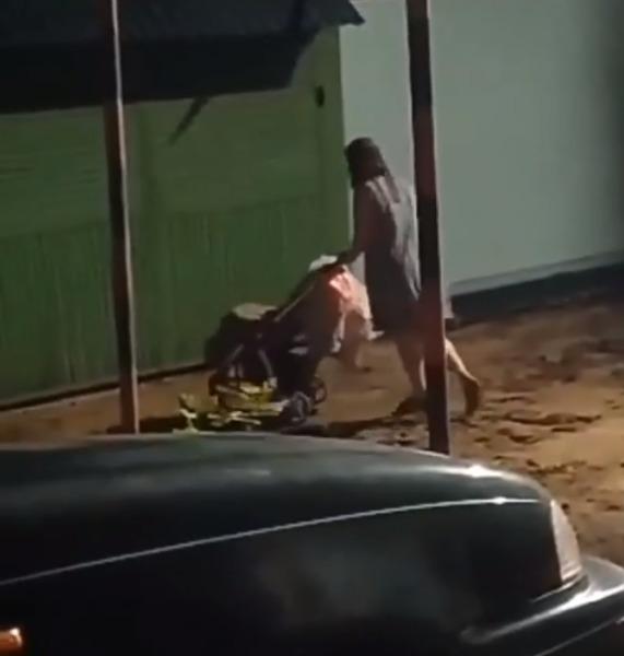 В Тамбове полиция проверяет видео с пьяной женщиной с детской коляской