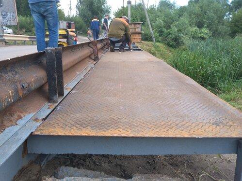 В Тамбове ремонтируют небезопасный мост на Андреевской улице