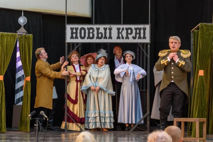В Тамбове возобновила работу Летняя площадка драмтеатра