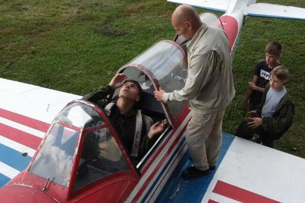 В Тамбове завершилась первая лётная смена школы юного пилота