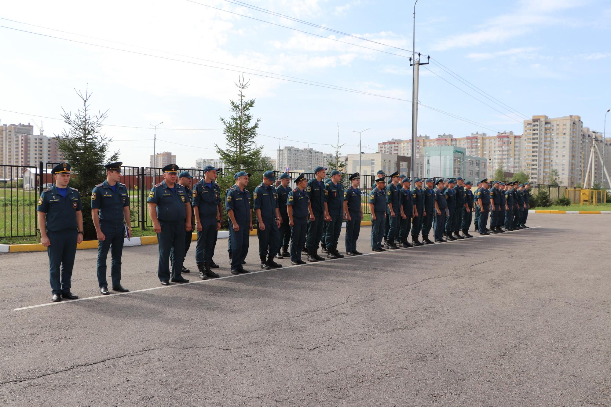 В Тамбовской области прошли соревнования на Кубок памяти пожарных и спасателей