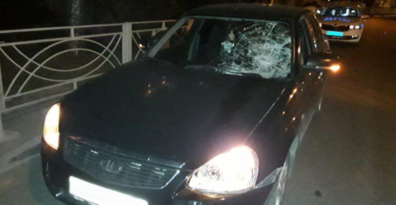 Водитель «Приоры» сбил пешехода в центре Тамбова