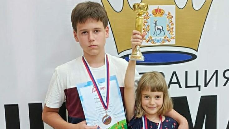 Юные шахматисты из Котовска завоевали «золото» и «бронзу» на детском Кубке России