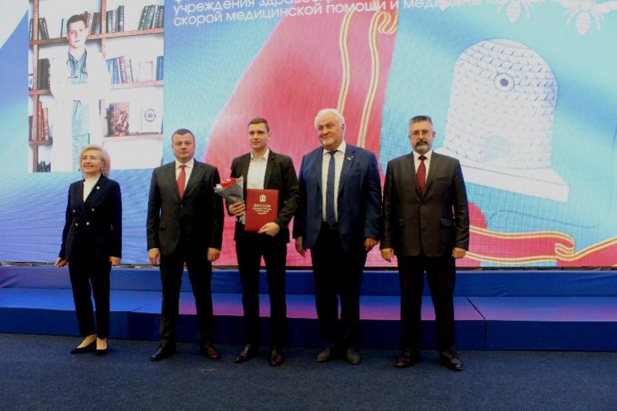 Фельдшер скорой помощи стал лауреатом премии имени Зои Космодемьянской
