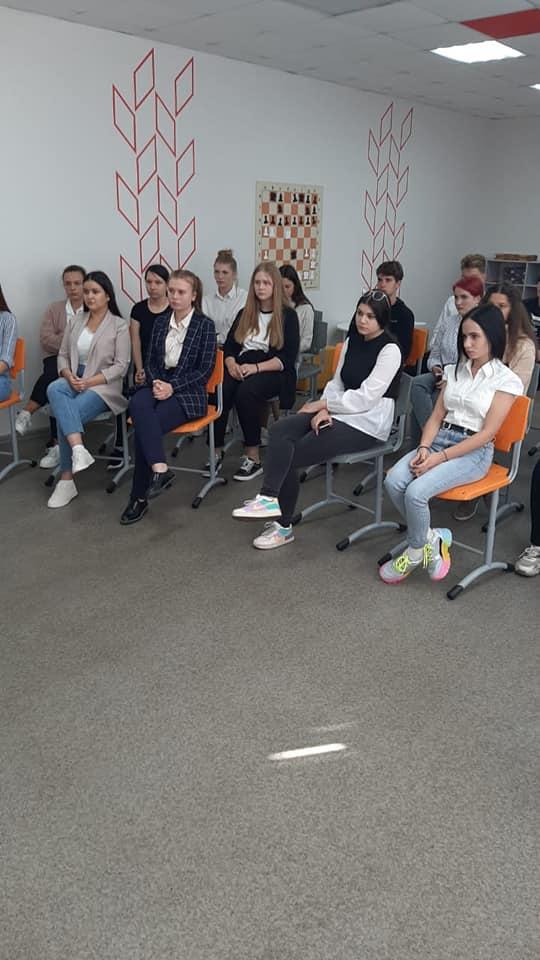 Глава Рассказовского района провёл открытый урок для старшеклассников