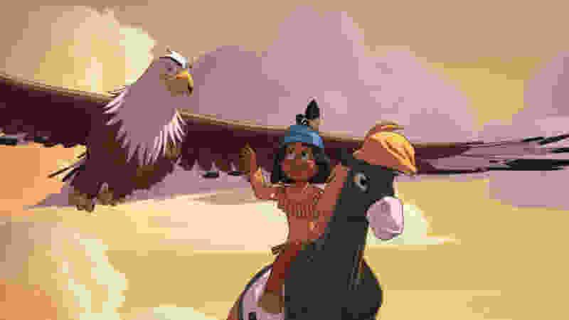 Маски, мустанги и Смешарики: мультфильмы для юных тамбовчан