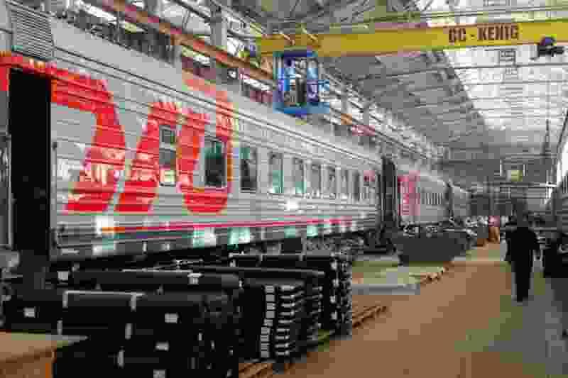 На Тамбовском вагоноремонтном заводе создали SPA-вагоны
