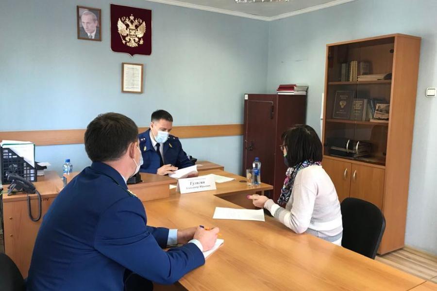 На выездном приёме у прокурора Тамбовской области побывали жители Никифоровского района