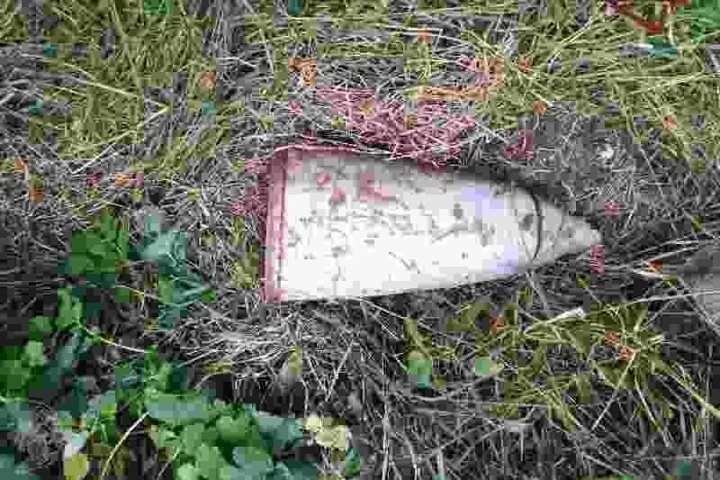 Пенсионерка из Тамбовской области нашла у себя во дворе ракетный снаряд