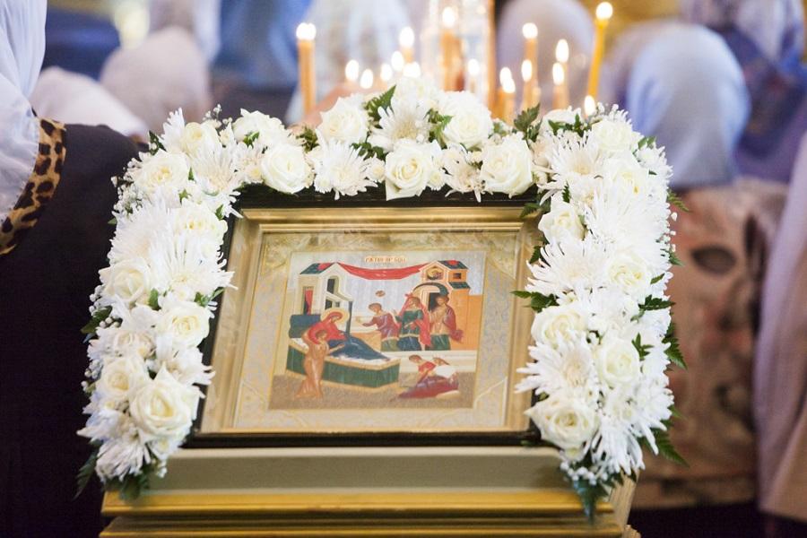 Православные тамбовчане празднуют Рождество Пресвятой Богородицы