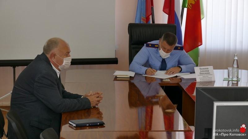 Руководитель регионального СУ СК России провёл приём граждан в Котовске
