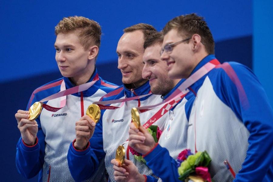 Сборная России в медальном зачёте на Паралимпиаде в Токио стала четвёртой