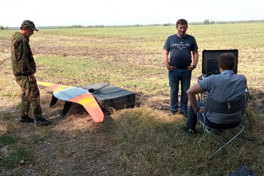 Специалисты ТГУ во время микропереписи провели аэрофотосъёмку в Рассказовского района