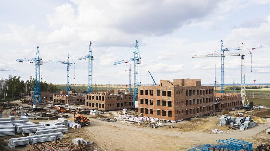 """""""Строительная компания Жупиков"""" строит новую школу на севере Тамбова с опережением графика"""