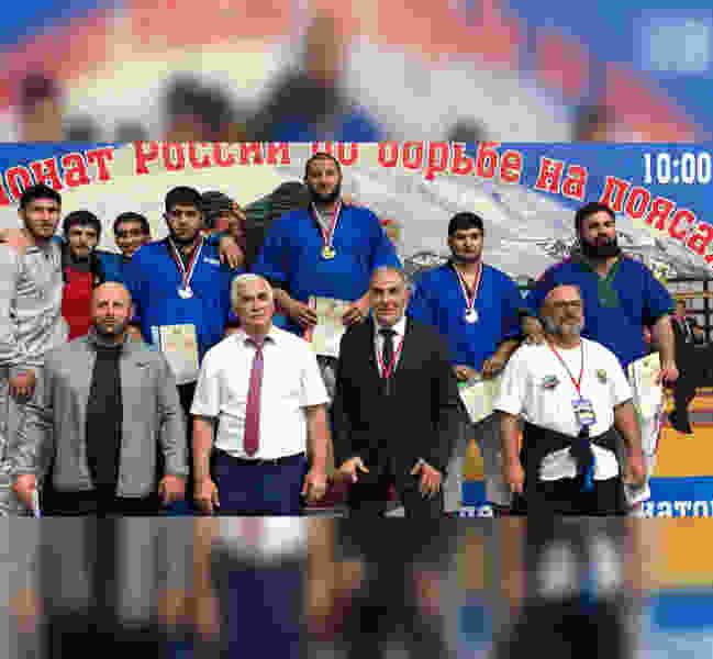 Студент ТГУ имени Державина завоевал «бронзу» Чемпионата России по борьбе на поясах