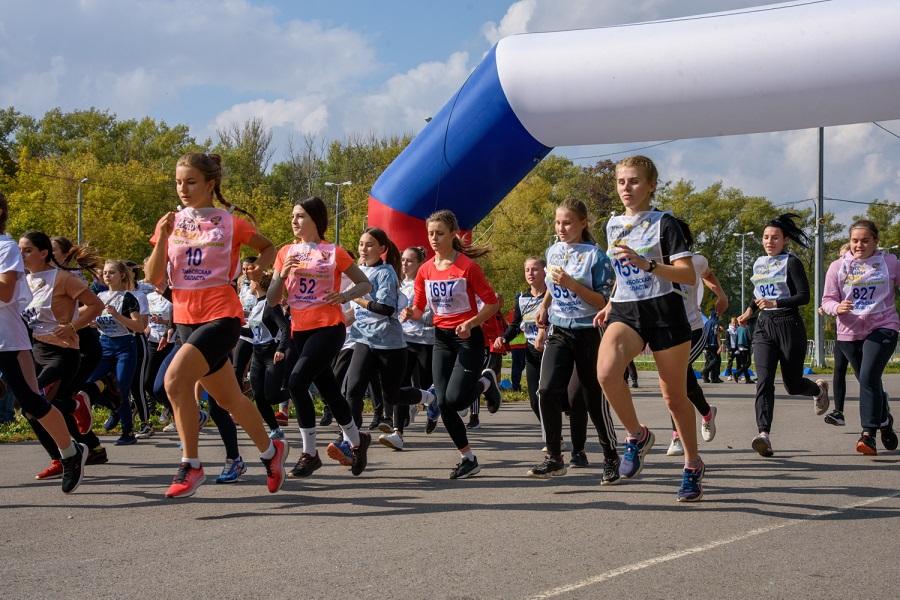 """Тамбовчане пробежали традиционный """"Кросс нации"""""""
