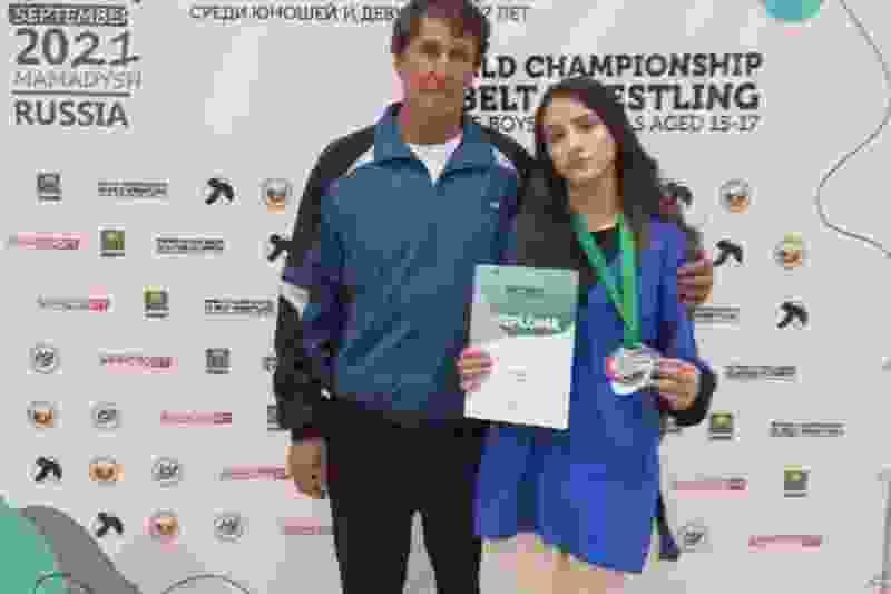 Тамбовчанка завоевала «серебро» на первенстве мира по борьбе на поясах