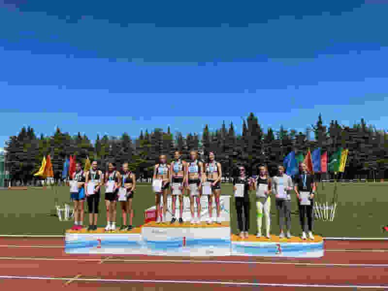 Тамбовчанка завоевала «золото» на Чемпионате России по эстафетам