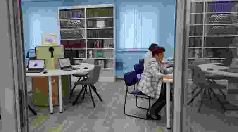 Тамбовская библиотека имени Крупской открылась после масштабного обновления