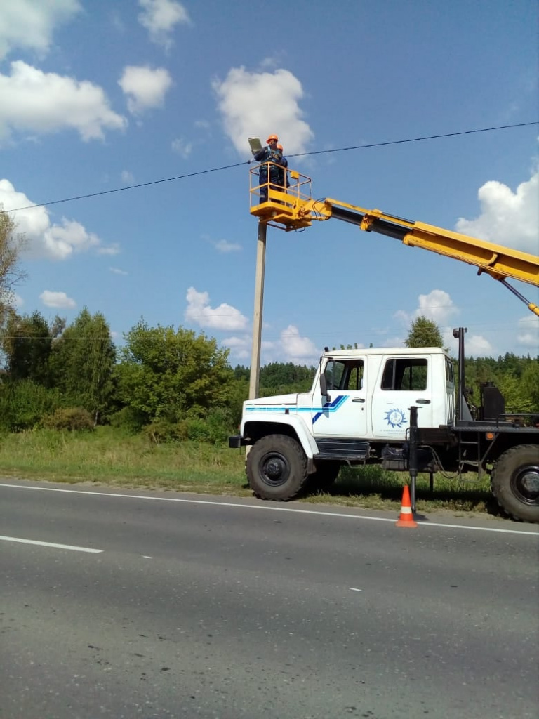 «Тамбовская сетевая компания» установила светильники в Сосновском районе