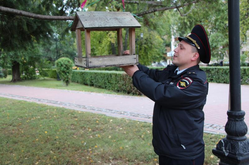 Тамбовские полицейские присоединились к всероссийскому субботнику