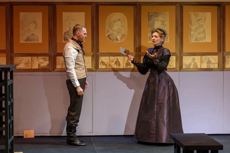 Тамбовский молодёжный театр провёл открытую репетицию премьерного спектакля