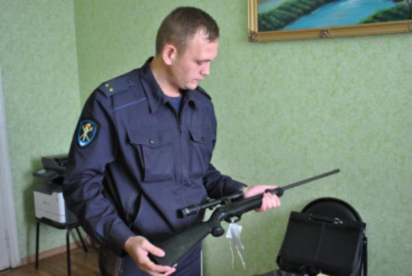 У жителя Мичуринского района обнаружили незаконный арсенал