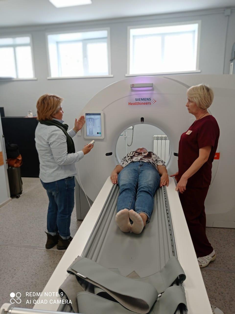 Уваровская ЦРБ получила новый компьютерный томограф