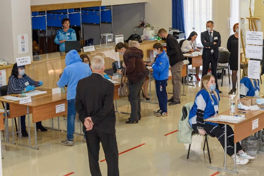 В избиркоме Тамбовской области подвели итоги явки первых двух дней голосования