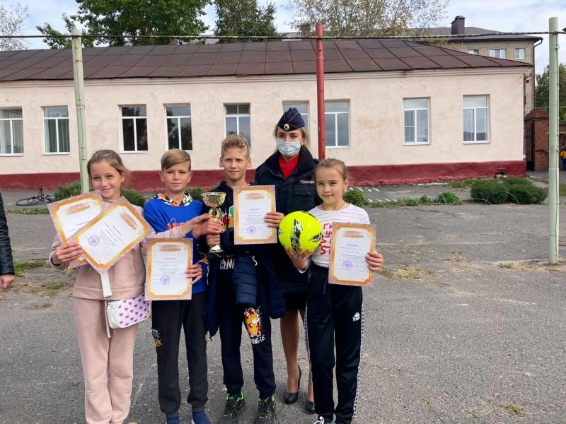 В Мичуринске прошёл конкурс юных инспекторов движения
