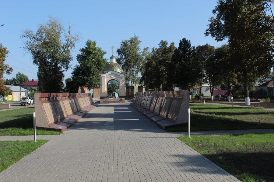 В Моршанске готовятся к открытию нового мемориального комплекса