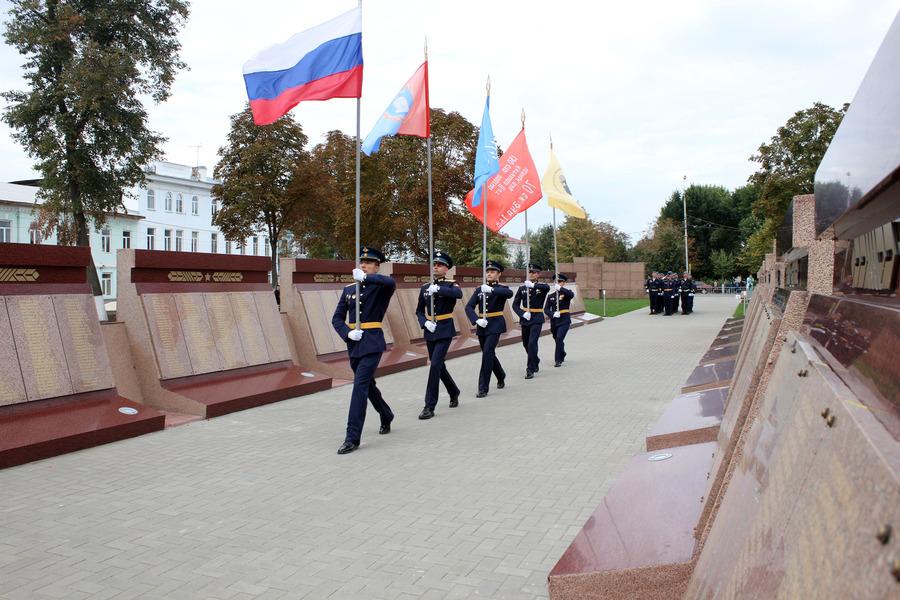 В Моршанске увековечили память погибших и пропавших без вести в годы войны земляков