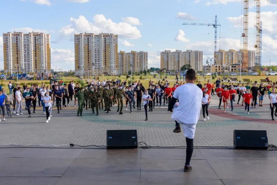 В Олимпийском парке прошла молодёжная тусовка ЗОЖ