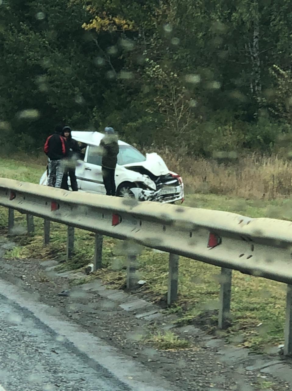 В Первомайском районе произошли две аварии на расстоянии 500 метров