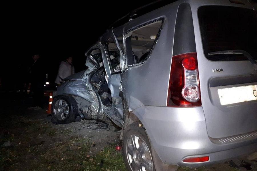 В Первомайском районе в ДТП погибли два человека
