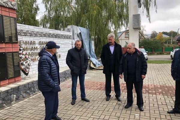 В Сампурском районе отремонтируют памятник героям Великой Отечественной войны
