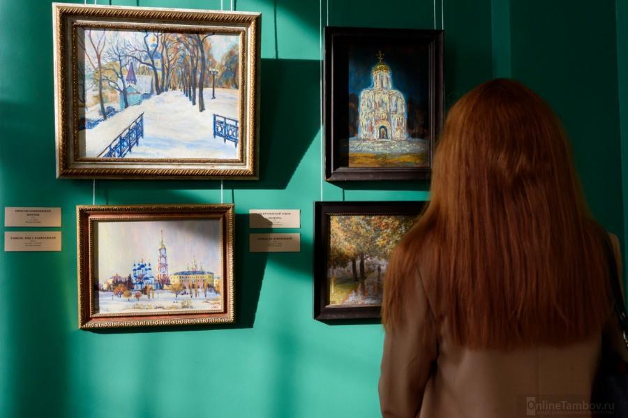 В Тамбове открылась масштабная выставка живописи и графики Андрея Ельцова