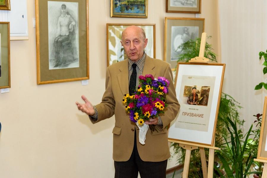 В Тамбове открылась выставка картин Заслуженного учителя РФ Анатолия Фалеева