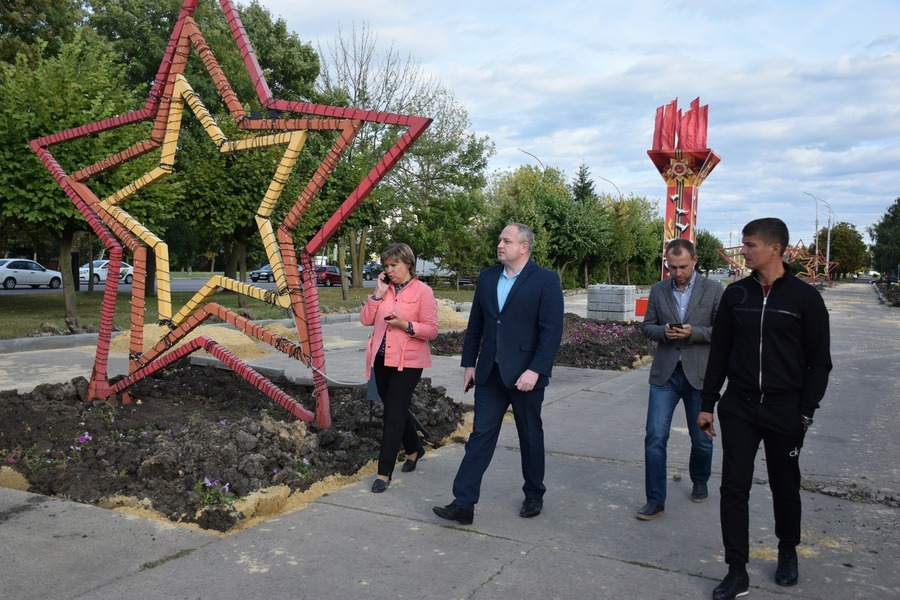 В Тамбове приступили к реконструкции Парка Победы