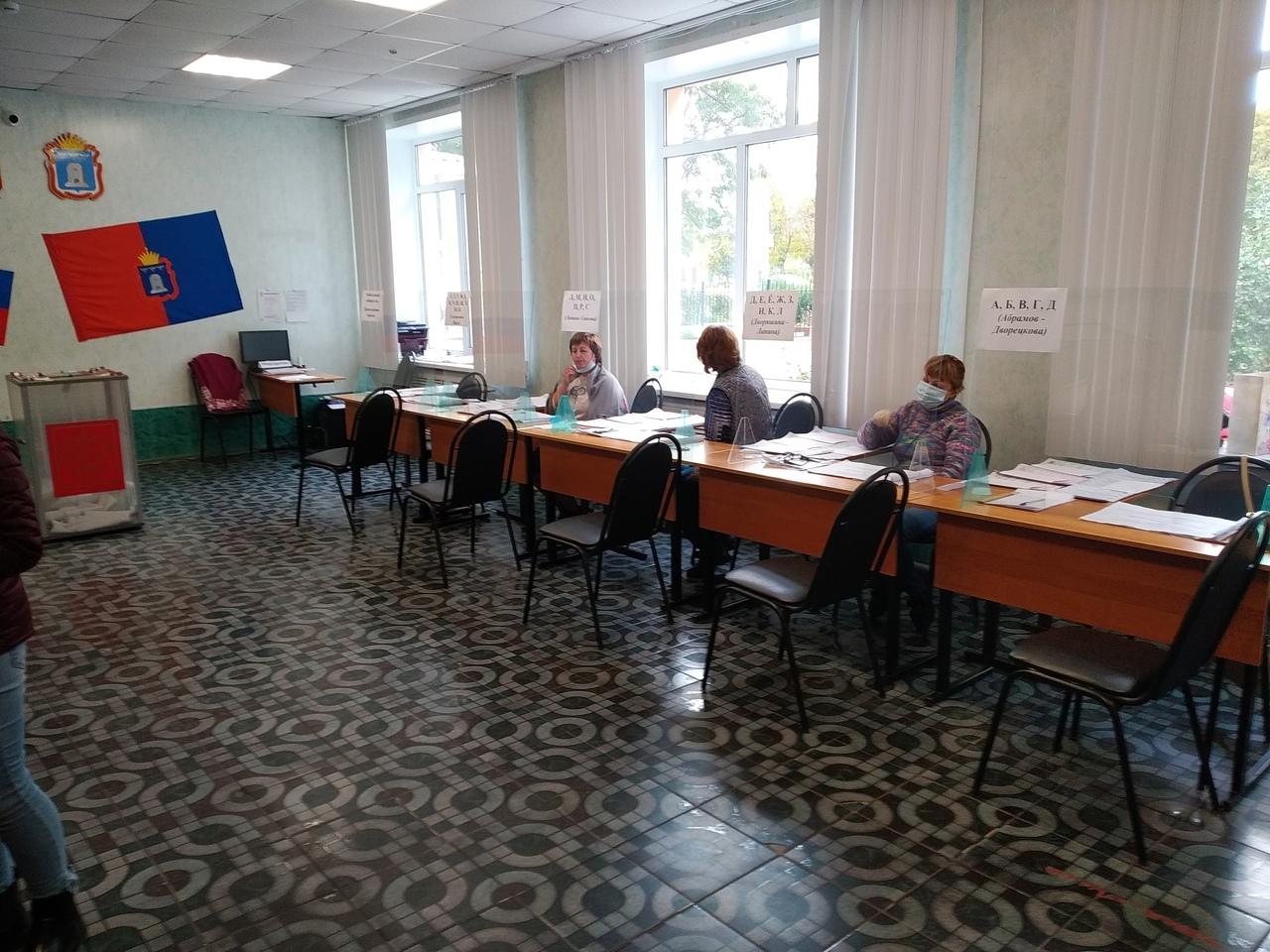 В Тамбове продолжается второй день голосования