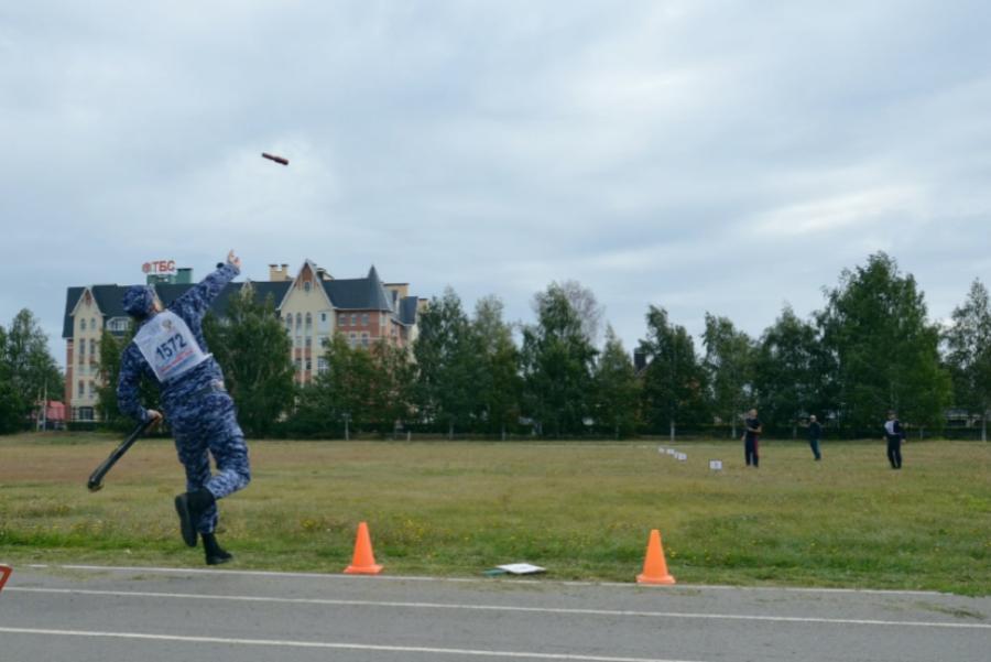 В Тамбове прошел чемпионат по военно-прикладному спорту среди росгвардейцев