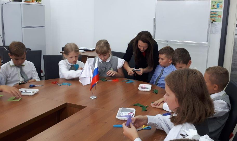 В Тамбове школьников научили делать светоотражатели