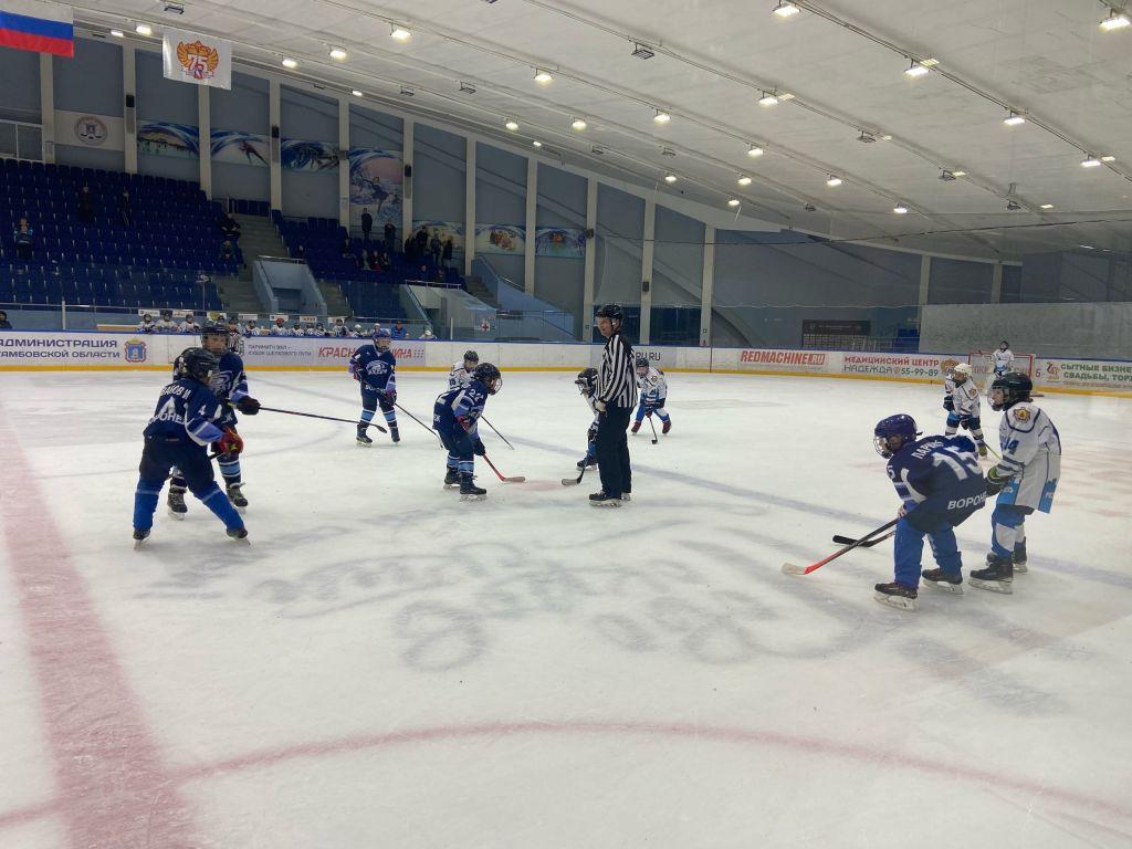 В Тамбове состоялся хоккейный турнир среди юношей