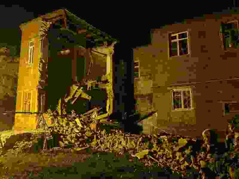 В Тамбове возбуждено уголовное дело по факту обрушения стены жилого дома
