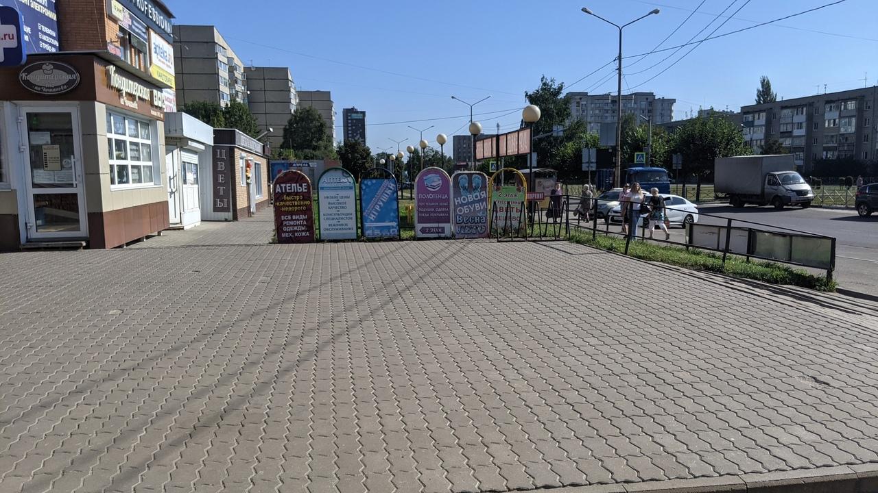 В Тамбове выявлен ряд рекламных конструкций с нарушениями