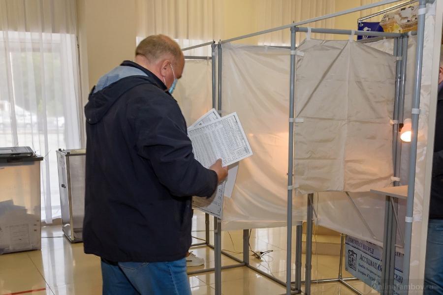 В Тамбовской области определены победители на выборах в Госдуму по одномандатным округам